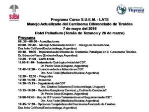 Programa SUEM LATS