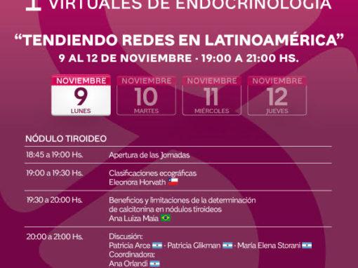 Primeras Jornadas Latinoamericanas Virtuales de Endocrinología